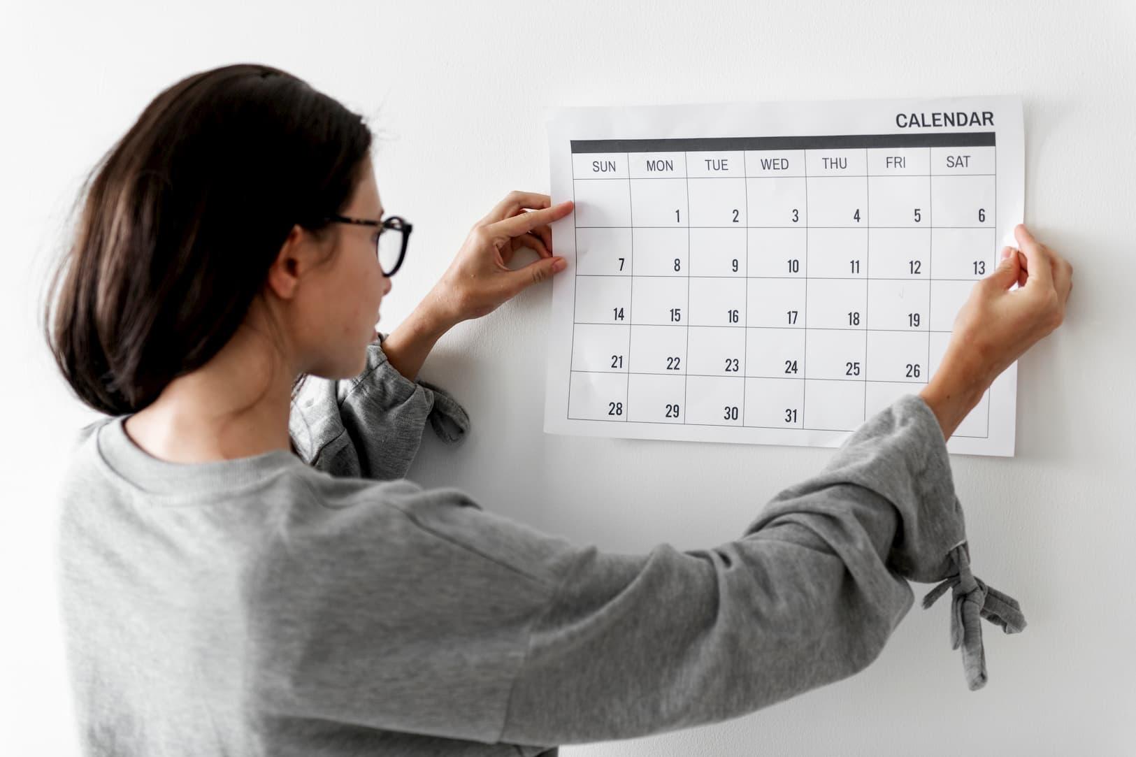Elegir la mejor fecha para la prueba de polígrafo