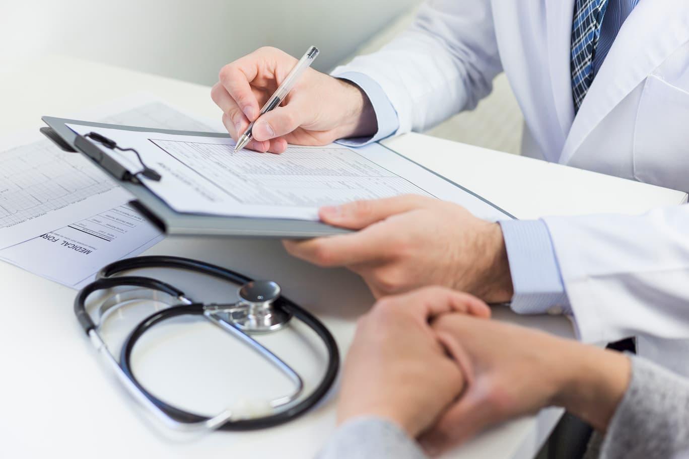 Seguir con recomendaciones de médico antes de la prueba del polígrafo