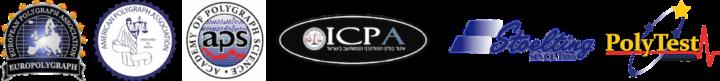 Logos de empresas de polígrafo