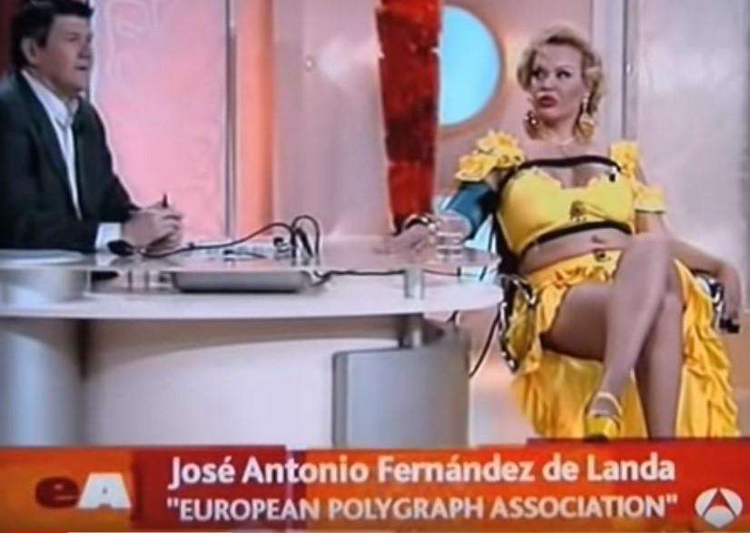 Cristina La Veneno y la máquina de la verdad